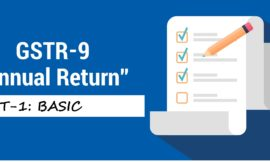GSTR-9 ANNUAL RETURN PART-1: BASIC