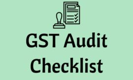 Suggestive Check List for GST Audit